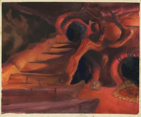 Secret of Nimh Background Color Key Concept - ID: aprnimh21062 Don Bluth