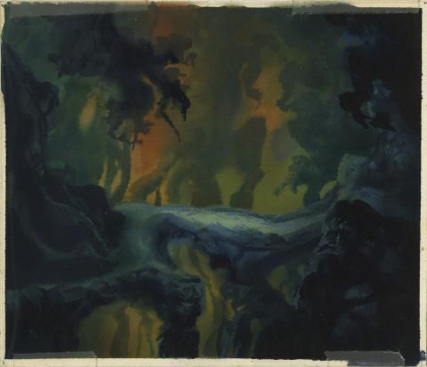 Secret of Nimh Background Color Key Concept - ID: aprnimh21077 Don Bluth