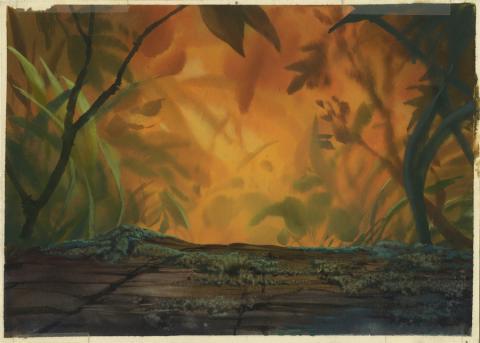 Secret of Nimh Background Color Key Concept - ID: aprnimh21080 Don Bluth