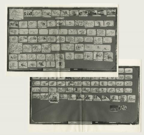 The Rescuers Photostat Storyboard Sheet - ID: aprrescuers21165 Walt Disney