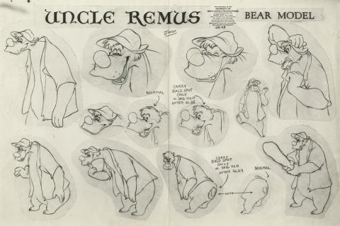 Song of the South Model Sheet - ID: aprsouth21161 Walt Disney