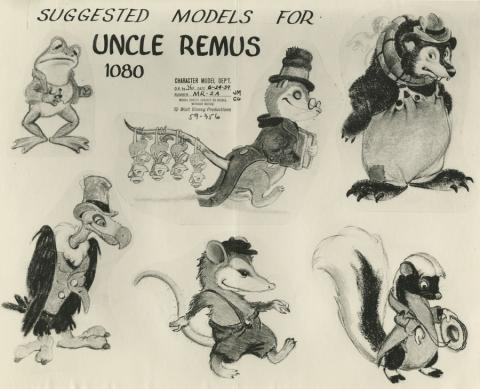 Song of the South Photostat Model Sheet - ID: aprsouth21167 Walt Disney