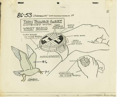 Super Friends Model Cel - ID: aprsuperfriends21014 Hanna Barbera