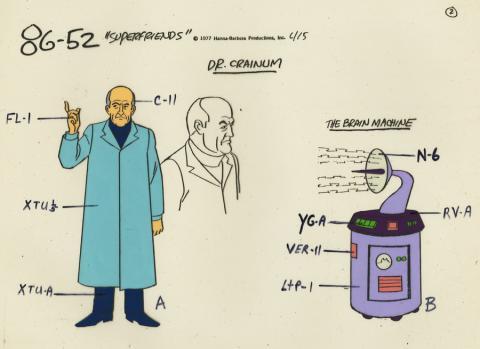 Super Friends Model Cel - ID: aprsuperfriends21017 Hanna Barbera
