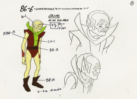 Super Friends Model Cel - ID: aprsuperfriends21021 Hanna Barbera