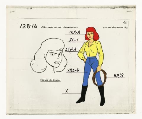 Super Friends Model Cel - ID: aprsuperfriends21023 Hanna Barbera