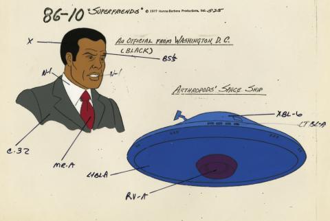 Super Friends Model Cel - ID: aprsuperfriends21027 Hanna Barbera