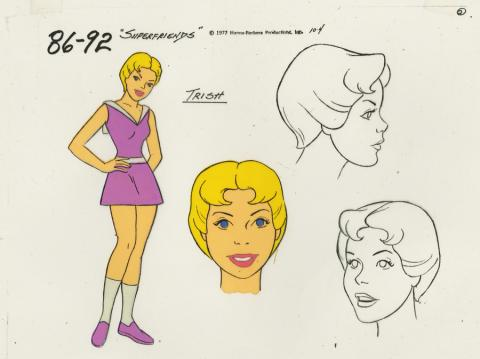 Super Friends Model Cel - ID: aprsuperfriends21028 Hanna Barbera