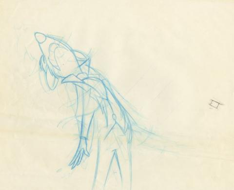 The Great Mouse Detective Production Drawing - ID: augdetective21099 Walt Disney