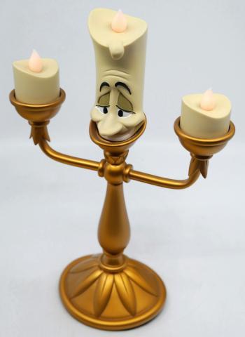 Lumiere Light-Up Figurine - ID: augdisneyana20053 Disneyana