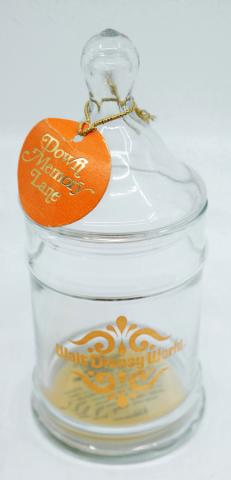 Walt Disney World Glass Candy Jar - ID: augdisneyana20057 Disneyana