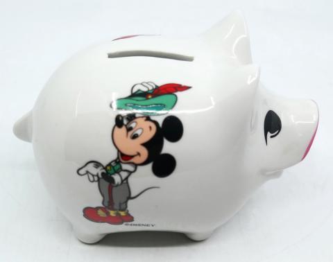 Reutter Porzellan Mickey Mouse Piggy Bank - ID: augdisneyana20061 Disneyana