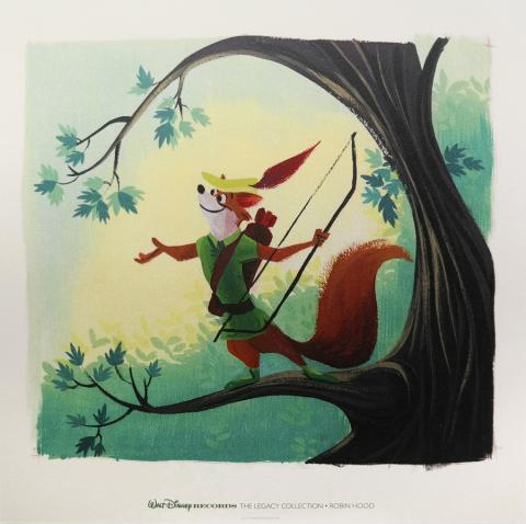 Walt Disney Records The Legacy Collection Art Print - ID: augdisneyana20132 Disneyana