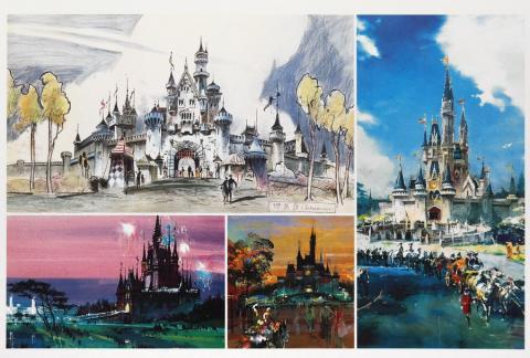 Disney Gallery Herb Ryman Concept Art Print Set - ID: augdisneyana20135 Disneyana