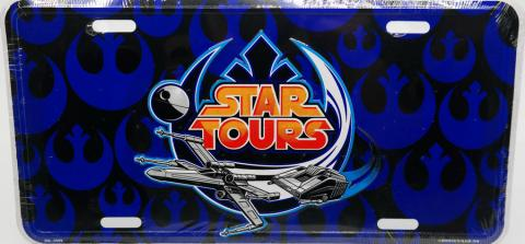 Star Tours Vanity License Plate - ID: augdisneyana20158 Disneyana