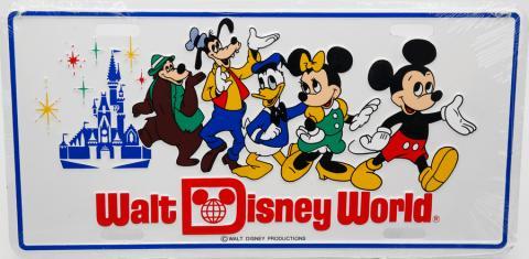 Walt Disney World Vanity License Plate - ID: augdisneyana20163 Disneyana