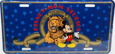 Disney-MGM Studios Novelty License Plate - ID: augdisneyana20169 Disneyana
