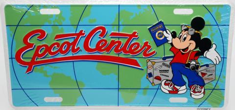 Epcot Center Novelty License Plate - ID: augdisneyana20180 Disneyana