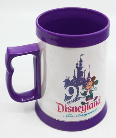 "Disneyland ""˜91, The Original Plastic Mug - ID: augdisneyana20189 Disneyana"