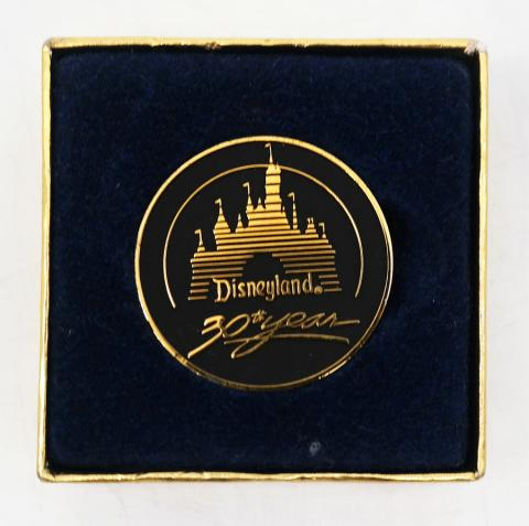 Disneyland 30th Year Anniversary Medallion - ID: augdisneyana20196 Disneyana