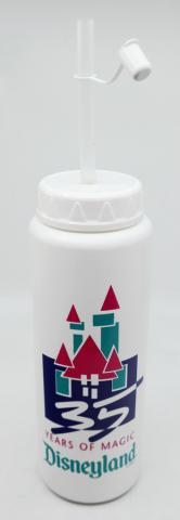Disneyland 35 Years of Magic Water Bottle - ID: augdisneyana20197 Disneyana