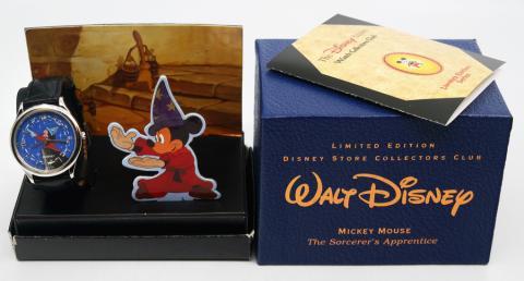 Set of Limited Edition Disney Store Collectors Club Watches - ID: augdisneyana20203 Disneyana