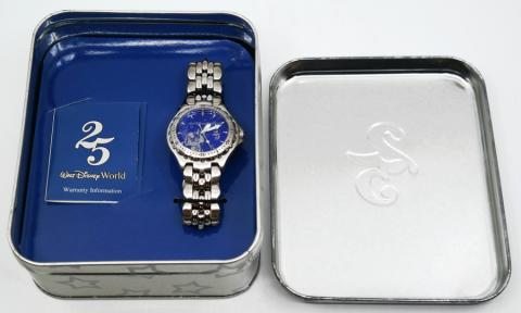 Walt Disney World 25th Anniversary Watch - ID: augdisneyana20223 Disneyana