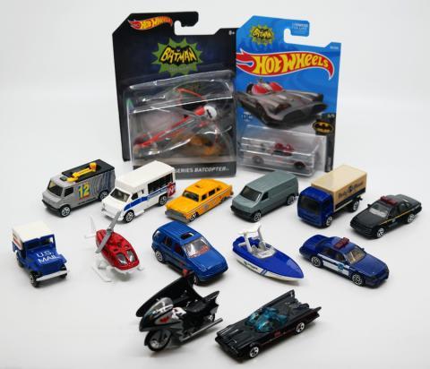Collection of (15) D.C. Comics Vehicle Toys - ID: augdisneyana20501 Pop Culture