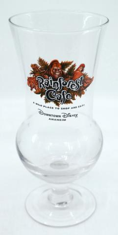 Rainforest Cafe Souvenir Drinking Glass - ID: augdisneyland20058 Disneyana
