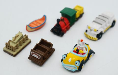 Disney Ride Vehicle Miniature Figures - ID: augdisneyland20090 Disneyana