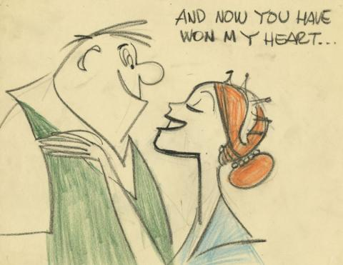 L'Amour the Merrier Storyboard Drawing - ID: augfamous21115 Famous
