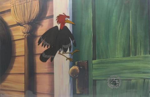Fox and the Hound Production Cel - ID: augfoxhound21211 Walt Disney