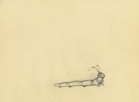Lady and the Tramp Production Drawing - ID: augtramp21094 Walt Disney