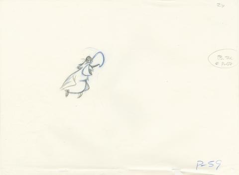 Aladdin Production Drawing - ID: decaladdin20225 Walt Disney