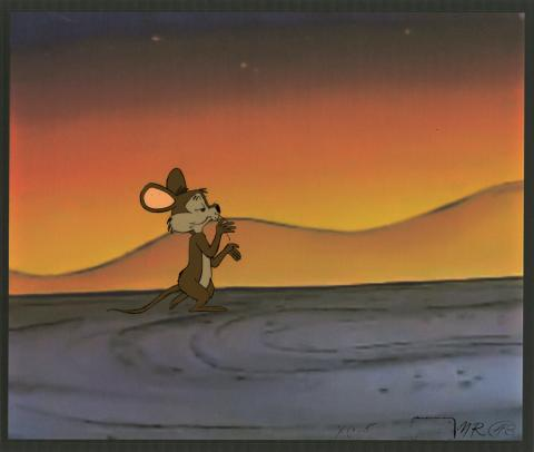 The Pumpkin Who Couldn't Smile Production Cel - ID: decchuckjones20235 Chuck Jones