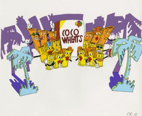 Coco Wheaties Commercial Production Cel - ID: deccommercial20274 Commercial