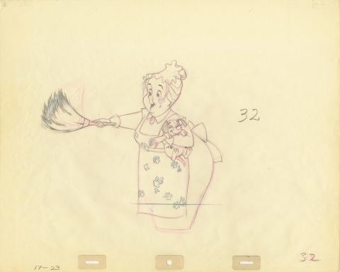 101 Dalmatians Production Drawing - ID: decdalmatians20055 Walt Disney