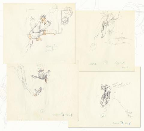 Froot Loops Set of (4) Commercial Production Drawings - ID: decfrootloops20245 Commercial