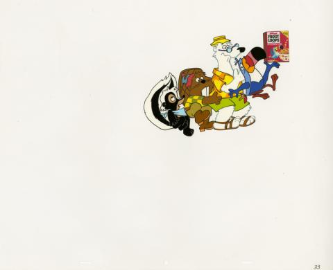 Froot Loops Commercial Production Cel - ID: decfrootloops20278 Commercial