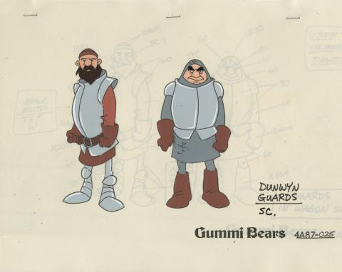 Adventures of the Gummi Bears Model Cel - ID: decgummibears20312 Walt Disney