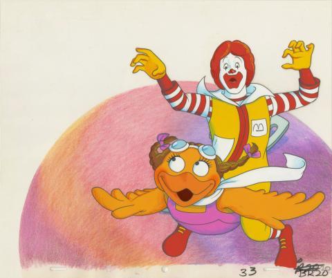 McDonald's Commercial Production Cel - ID: decmcdonalds20230 Commercial