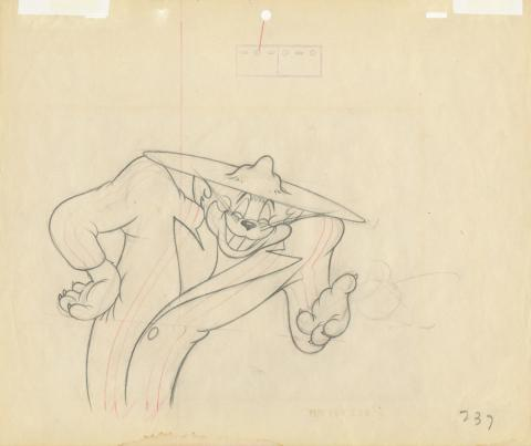 Tom and Jerry Production Drawing - ID: dectomjerry20002 MGM