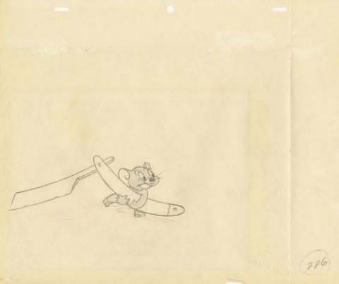 Tom and Jerry Production Drawing - ID: dectomjerry20006 MGM