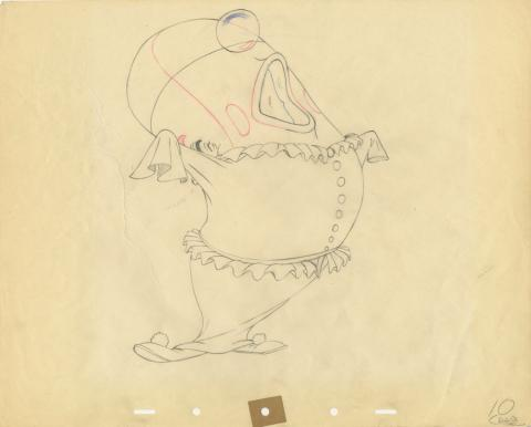 Make Mine Music Production Drawing - ID: decwhale20040 Walt Disney