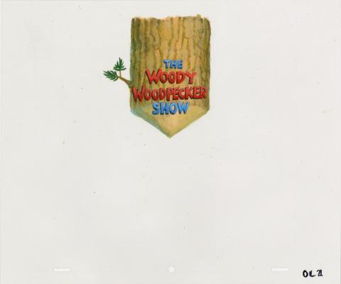 The Woody Woodpecker Show Title Cel - ID: decwoody20209 Walter Lantz