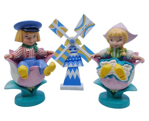 It's a Small World Holland WDCC Figurine Set - ID: febwdcc21609 Disneyana