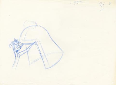 Mulan Production Drawing - ID: janmulan21108 Walt Disney