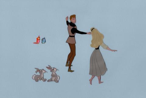 Sleeping Beauty Production Cel - ID: jansleeping21067 Walt Disney