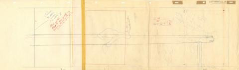 Barney Bear Impossible Possum Layout Drawing  - ID: julybarney20127 MGM