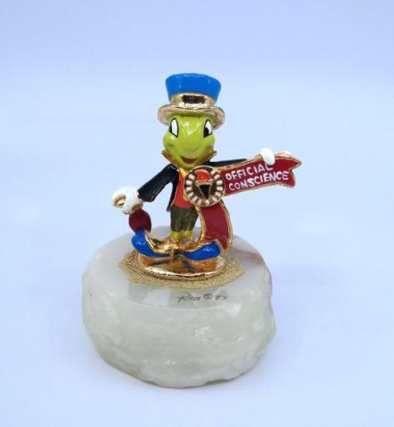 Jiminy Cricket Ron Lee Figurine - ID: julydisneyana21014 Disneyana